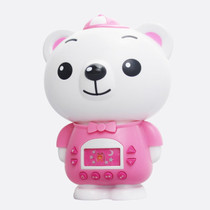 麦迪熊 麦欣欣儿童早教机故事机婴幼儿学习教具益智启蒙宝宝益智玩具 粉色不带遥控器产品图片主图