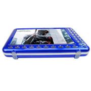 小霸王 视频播放器S07 7英寸屏老人看戏机插卡音箱扩音器唱戏收音4000毫安外置可更换 蓝色+16G戏曲精选视频卡