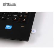 航世 蓝牙USB4.0适配器 带驱动光盘 蓝牙耳机发射接收器 支持WIN7/8