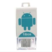 酷络 手机u盘卡通电脑手机 创意两用迷你otg 双插头u盘 8G