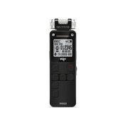 爱国者 R5520 双供电录音笔 4G 智能降躁 三个立体麦克风 高品质录音不断电 黑色