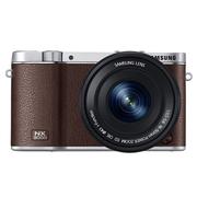 三星 NX3000 微型单电双镜头套装 棕色(50-200mm,16-50mm)