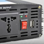 万鸿瑞 12v、24V转220v车载逆变器家用电源转换器电瓶升压器带1P空调2000w升压器 24V货车用
