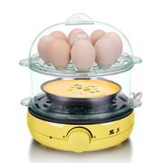 益多 YD-603双层煮蛋器不锈钢蒸蛋器自动断电不沾锅煎蛋煎牛排