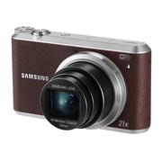 三星 WB351F 数码相机 棕色(1630万像素 3英寸触摸屏 21倍光学变焦 23mm广角)