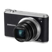 三星 WB351F 数码相机 黑色(1630万像素 3英寸触摸屏 21倍光学变焦 23mm广角)