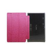 虎克 F8C皮套 8寸WIN8平板电脑包 超薄支架皮套壳 玫红