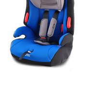 小龙哈彼(Happy dino) 汽车儿童安全座椅isofix接口9个月-12岁 蓝色