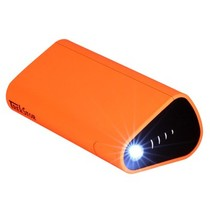 泰克思达 PBF 德国品牌 充电宝10400毫安手机充电宝 便携移动电源 手机平板双充 创意支架 橙色产品图片主图