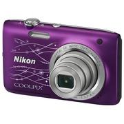 尼康 S2800 数码相机 紫色(2005万像素 2.7英寸液晶屏 5倍光学变焦)