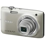 尼康 S2800 数码相机 银色(2005万像素 2.7英寸液晶屏 5倍光学变焦)
