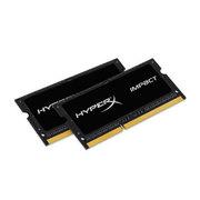 金士顿 骇客神条 Impact系列 DDR3 1600 8GB(4Gx2条)笔记本内存(HX316LS9IBK2/8)