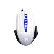 新盟 曼巴狂蛇 M393 有线 游戏鼠标 宏定义编程鼠标 USB 鼠标 白色