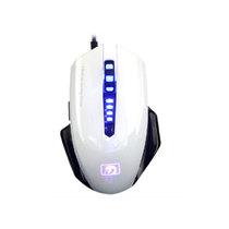 新盟 曼巴狂蛇 M393 有线 游戏鼠标 宏定义编程鼠标 USB 鼠标 白色产品图片主图