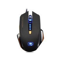 新盟 曼巴狂蛇 M393 有线 游戏鼠标 宏定义编程鼠标 USB 鼠标 黑色产品图片主图