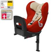 赛百斯(Cybex) 德国 Sirona 星钻0至4岁 ISOFIX正反向豪华儿童安全座椅 海水蓝2014