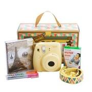 富士 instax mini8相机 礼盒新版套装(黄)