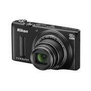 尼康 COOLPIX S9600 数码相机 黑色