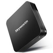 创维 i71S 4K盒子 四核 双WIFI 网络机顶盒 安卓4.4.2 钛黑