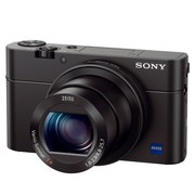 索尼 RX100  M3 黑卡数码相机 等效24-70mm F1.8-2.8蔡司镜头(WIFI/NFC)