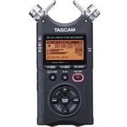 TASCAM DR-40 黑色2GB插卡式 4轨高性价比PCM专业录音机 单反微电影同步录音