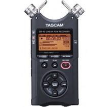 TASCAM DR-40 黑色2GB插卡式 4轨高性价比PCM专业录音机 单反微电影同步录音产品图片主图