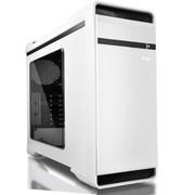 爱国者 YOGO优果机箱白色(赠送LED静音风扇12CM*2/USB3.0*2/风扇调速器*2/读卡器/侧透)