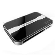 wisebrave 高级磨砂铝质USB2.0多合一 数码相机CF/SDXC64G高速内存卡
