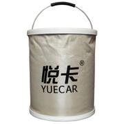悦卡 YC-ST 洗车水桶 户外折叠水桶 车用便携收纳桶1000D牛津布钓鱼水桶(20L款)