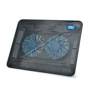 超频三 霜酷 双风扇 低噪音 适用于15英寸及以下笔记本