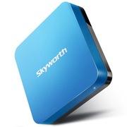创维 i71S 爱奇艺4K超清盒子 四核 爱奇艺 网络电视机顶盒 安卓智能高清播放器 蓝色