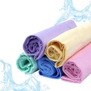 科程 鹿皮巾 洗车擦车吸水毛巾 合成鹿皮擦车布 麂皮巾 汽车用品 小号鹿皮巾43*32