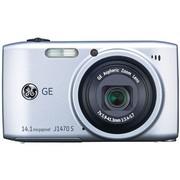 GE J1470S 数码相机 银色(1400万像素 28mm超广角 7倍光变 3.0英寸液晶屏 全能卡片机)