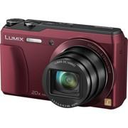 松下 DMC-ZS35GK-R 数码相机 红色 (1600万像素 3英寸屏 全景自拍)