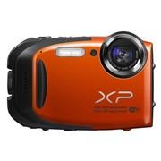 富士 XP70 橙色 四防(防水、防震、防尘、防冻) 1600万 5倍光学变焦  28mm广角  Wi-Fi传输