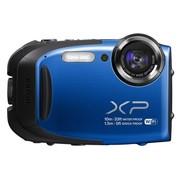 富士 XP70 蓝色 四防(防水、防震、防尘、防冻) 1600万 5倍光学变焦  28mm广角  Wi-Fi传输