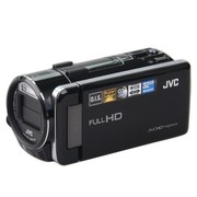 JVC GZ-G3BAC 高清闪存摄像机 黑色(1062万像素 F1.2超大光圈 10倍光变 32G内存 3.5英寸屏)