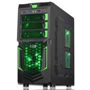 大水牛 特遣队游戏机箱(黑色/RTX/原生U3/下置/SSD/支持超长显卡)