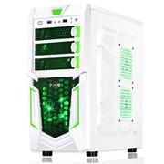 大水牛 特遣队游戏机箱(白色/RTX/原生U3/下置/SSD/支持超长显卡)