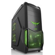 先马 魔域猎手 标准版黑色中塔游戏机箱(USB3.0/光驱免工具/全面防尘/支持40CM长显卡安装)
