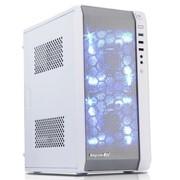 鑫谷 圣徒mini3 皓月白U3版 迷你机箱(兼容M-ATX主板、大电源、长显卡、极速SSD、背线)