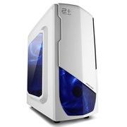 金河田 21+预见 N-3 MINI游戏 雅典白机箱 (原生U3/全兼容SSD/背线/独立硬盘托架/水冷)