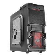 酷冷至尊 杀破狼(RC-K500-KWN1) 游戏机箱(前置USB3.0/侧透/标配12cm红色风扇)黑色