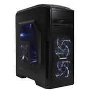 GAMEMAX 天尊 全顶盖游戏机箱 (原生USB3.0/背部走线/双调速器/侧透/活性炭钢) 黑色