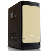 爱国者 嘉年华V3MINI机箱金色(USB3.0/免工具设计)