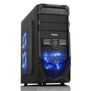 先马 破坏神5 游戏机箱(前置U3/支持背线/SSD/铁网防尘面板)
