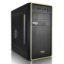 爱国者 嘉年华V7MINI系列机箱黑色(标配12CM黑框白页风扇/USB3.0/支持SSD固态硬盘)产品图片主图