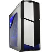 撒哈拉 飞行者AX3玩家版 游戏机箱 黑色 (豪华大侧透/支持背线/五金黑化)