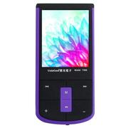 紫光电子 T366 MP3播放器 可插卡 支持无损格式  MP4视频播放听戏 评书 紫色8G
