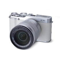 富士 X-A1 单电套机(XC 16-50mm F3.5-5.6 OIS 镜头)白色产品图片主图
